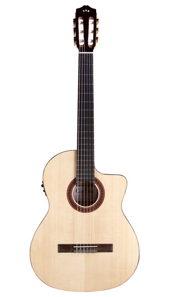 Cordoba C5-CET Spalted Maple Limited Classical Acoustic/Electric Guitar Natural