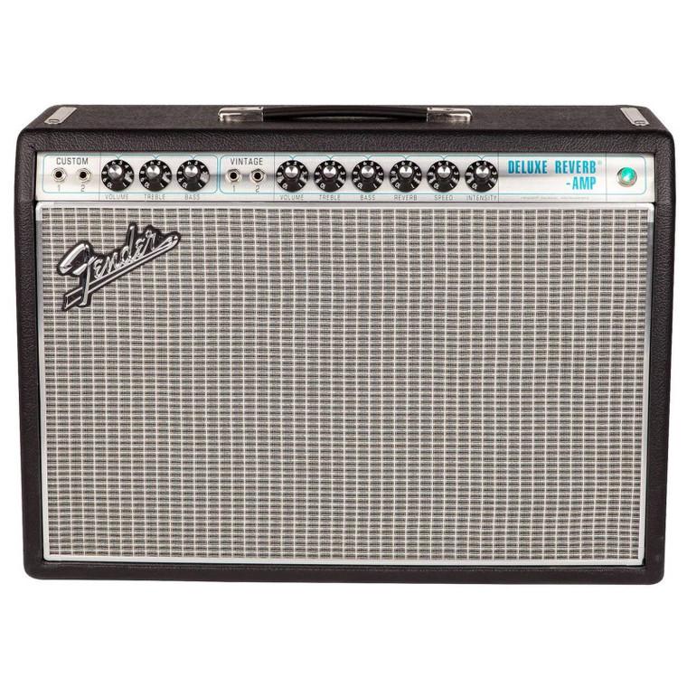 """Fender '68 Custom Deluxe Reverb 22W 1x12"""" Combo Amp"""