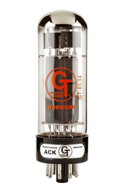 Groove Tubes GT-EL34-M Single EL34 Tube - 1 Pack