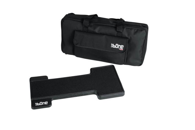 Gator Bone Series Pedal Board w/ Carry Bag & Power Supply