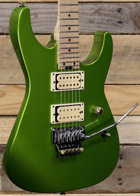 Charvel Custom Shop Dinky 2H Electric Guitar Lime Green Metallic w/ Case