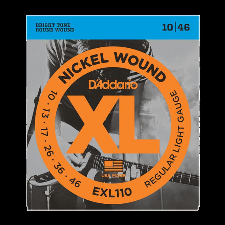 D'Addario XL Nickel Wound Regular Light - 10-46 Gauge