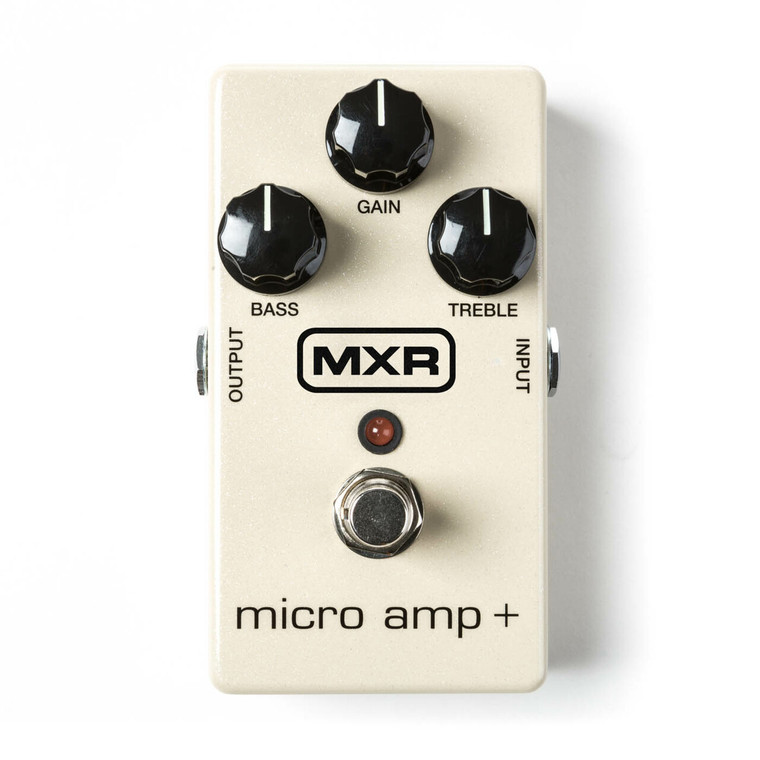 MXR Micro Amp+ Effects Pedal