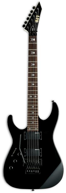 ESP LTD KH-202 Lefty Electric Guitar - Black