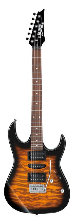 Ibanez GRX70QA RG Gio Electric Guitar - Sunburst