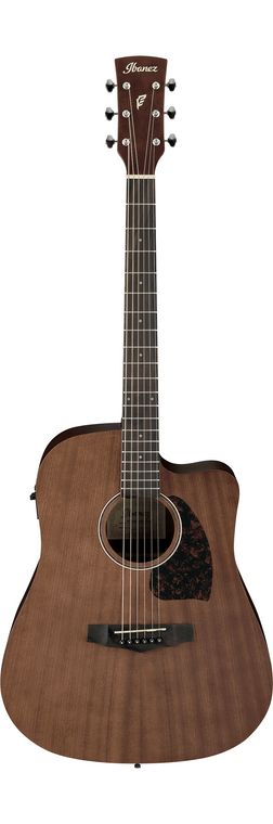 Ibanez PF12MHCE PF Acoustic/Electric Guitar - Open Pore Natural
