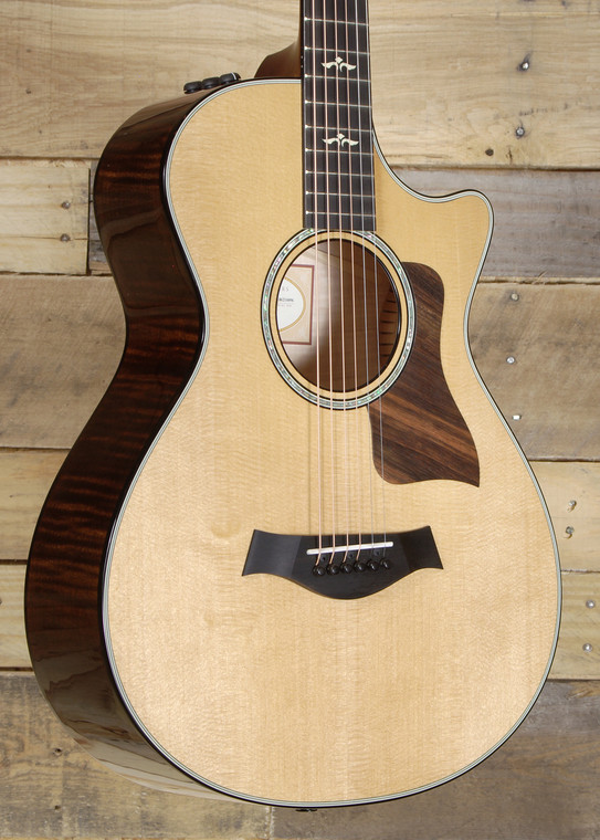 Taylor 612ce 12-Fret Acoustic/Electric Guitar w/ Hardshell Case
