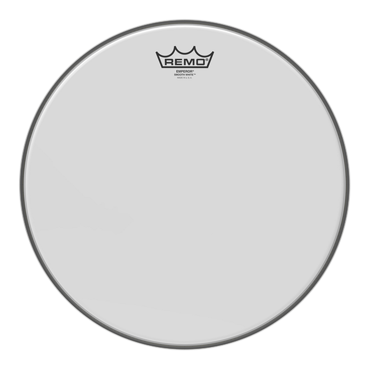 """Remo Emperor Smooth 13"""" White Drumhead"""