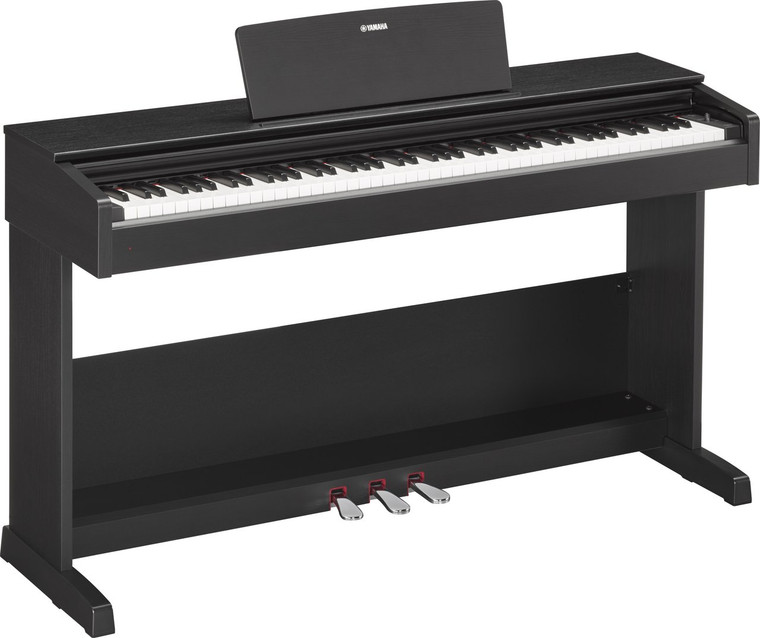 Yamaha YDP-103 88 Graded Hammer Standard Keyboard Black