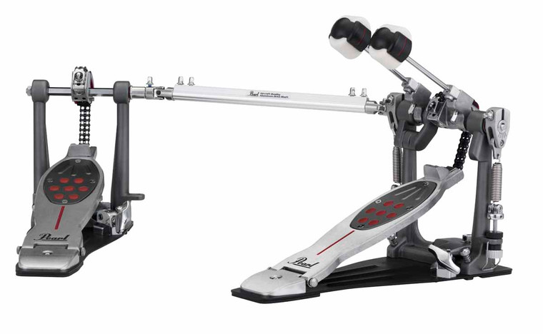 Pearl P2052C Eliminator Red Line Chain Double Pedal