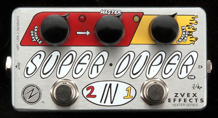 Zvex Effects Super Duper 2-in-1 Pedal