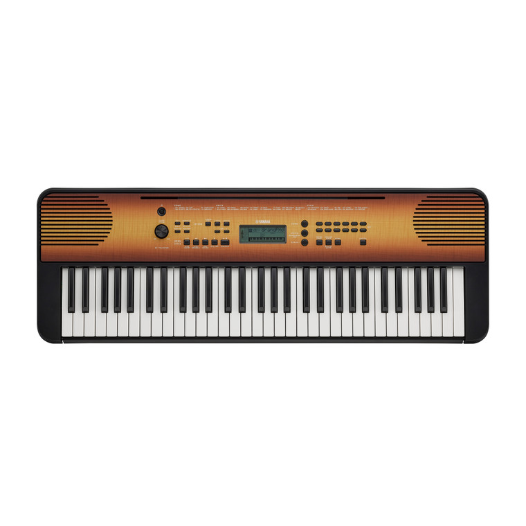 Yamaha PSR-E360 61 Key Portable Keyboard Maple