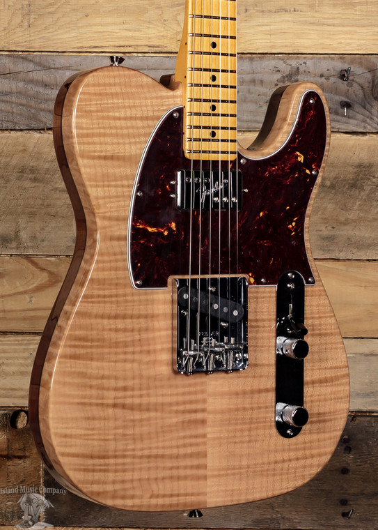 Fender Rarities Chambered Telecaster Flame Maple Top Natural w/ Case