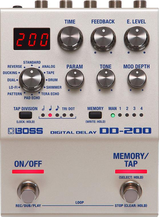 Boss DD-200 Digital Delay Effect Pedal