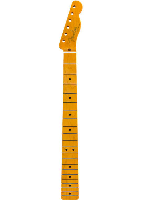 Fender Classic Series '50s Telecaster Neck, Lacquer Finish, 21 Vintage-Style