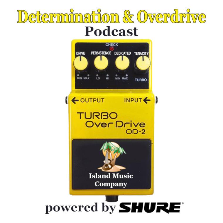 Determination & Overdrive Podcast #8 Dave Weiner