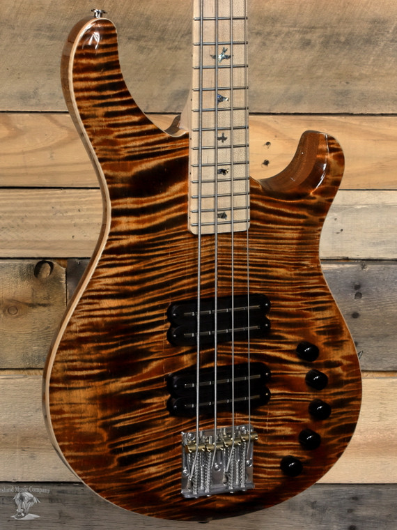 PRS Grainger 10-Top 4-String Bass Copperhead w/ Case