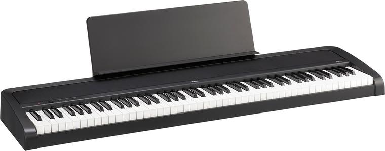 Korg B2 88 Natural Weighted Hammer Key Digital Piano Black