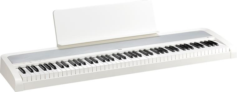 Korg B2 88 Natural Weighted Hammer Key Digital Piano White