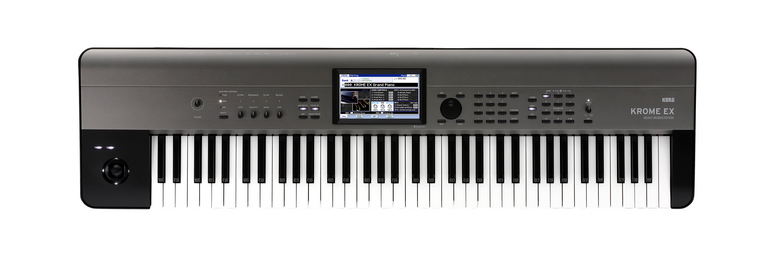 Korg Krome EX 73 Velocity Sensitive Semi Weighted Key Music Workstation