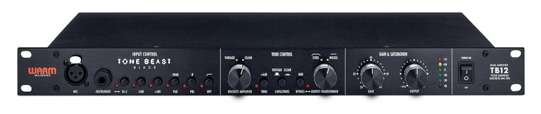 Warm Audio TB12 Tone Shaping Mic Pre w/ DI - Black