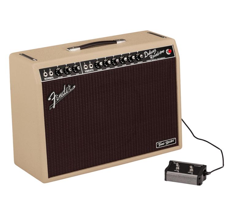 Fender Tone Master Deluxe Reverb Blonde Combo Amp