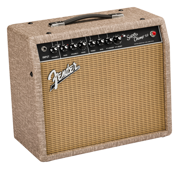 Fender FSR Limited Edition Super Champ X2 Combo Amp Fawn Wheat