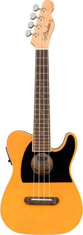 Fender Fullerton Telecaster Concert Ukulele Butterscotch Blonde