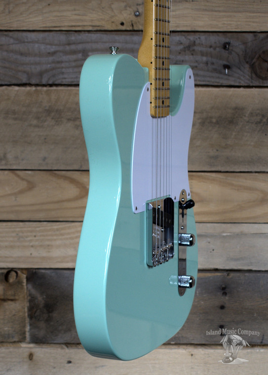 Fender 70th Anniversary Esquire Electric Guitar Surf Green w/ Case