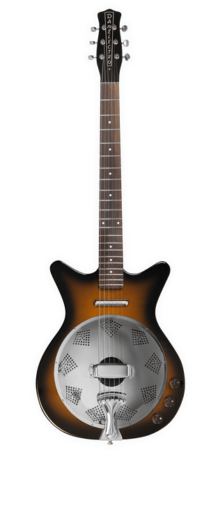 Danelectro '59 Resonator Electric Guitar - Tobacco Sunburst
