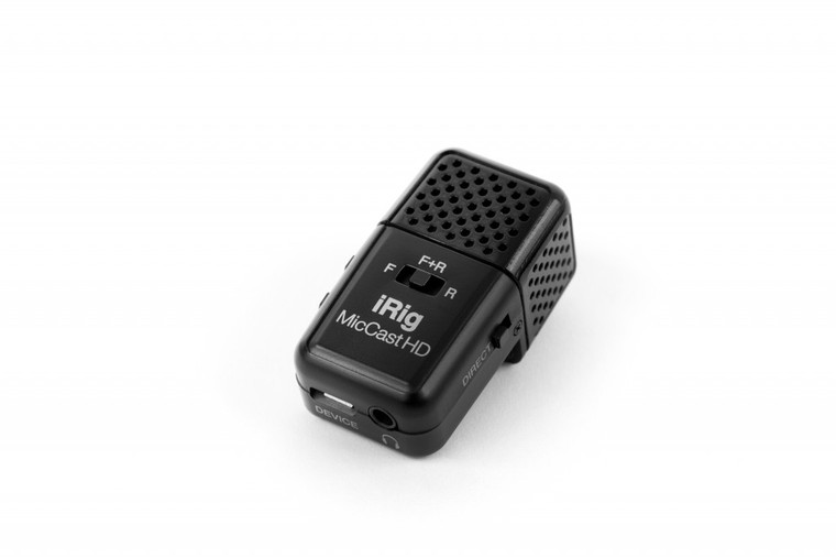 IK Multimedia iRig Mic Cast HD Microphone