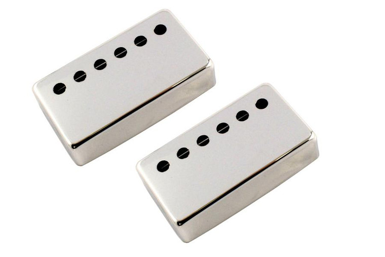 All Parts PC-6967-001 53mm Humbucking Pickup Cover Set - Nickel
