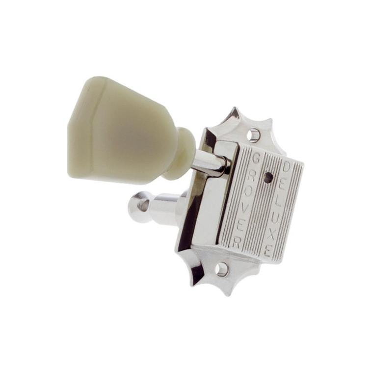 All Parts TK-7940-001 Grove 135 Series Vintage-Style 3x3 Key Set - Nickel