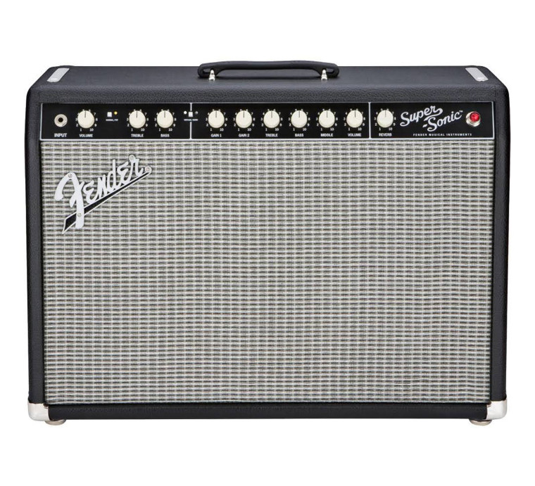 "Fender Super-Sonic 22 1x12"" 22W Combo Amp"