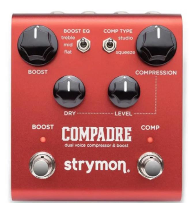 Strymon Z12A-COMP Compadre Dual Voice Compressor & Boost Pedal