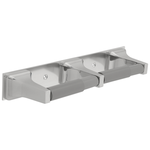 Delta 45270 Twin Paper Holder with 2 Plastic Rollers CHROME