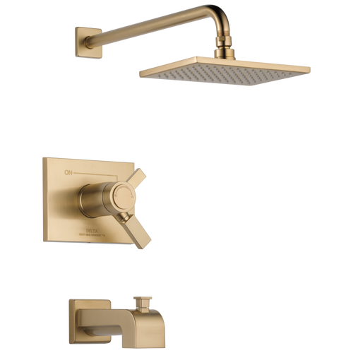Delta T17T453-CZ Vero TempAssure(R) 17T Series Tub and Shower Trim CHAMPAGNE BRONZE