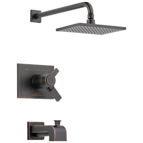 Delta T17T453-RB Vero TempAssure(R) 17T Series Tub and Shower Trim VENETIAN BRONZE