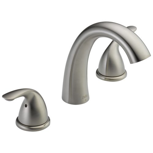 Delta T574LF-PNWL ZURA Single Handle Wall Mount Lavatory Faucet Trim Polished nickel