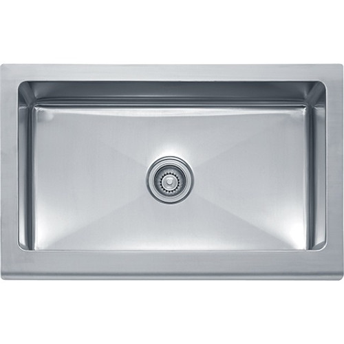 Franke MHX710-36 Manor House Stainless Steel Apron Front Sink