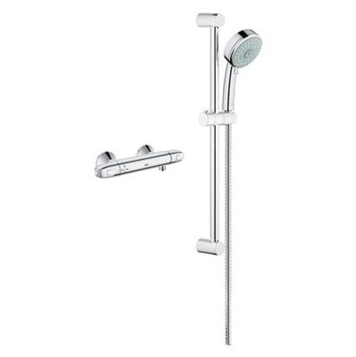Grohe 122629 GrohTherm?? 1000 Single Function Shower Kit Chrome