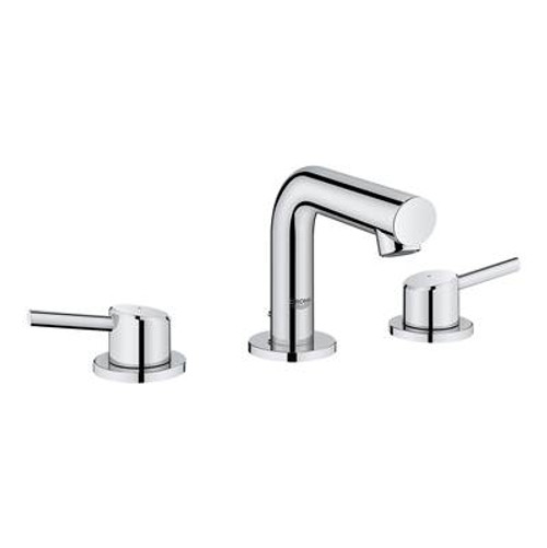 Grohe 20572001 Concetto 8 in. Widespread 2-Handle Mid-Arc Bathroom Faucet in StarLight Chrome Chrome