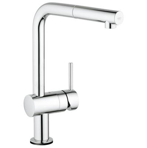 Grohe 30218001 Minta Touch Single-Handle Pull-Out Kitchen Faucet Chrome
