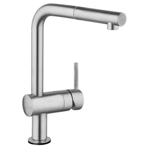 Grohe 30218DC1 Minta Touch Single-Handle Pull-Out Kitchen Faucet Super Steel