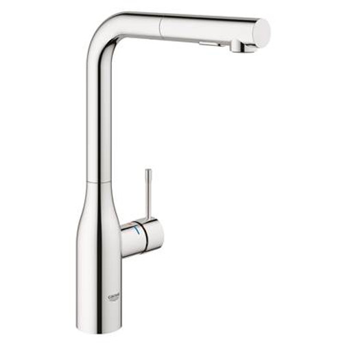 Grohe 30271000 Essence New Single-Handle Pull-Out Kitchen Faucet with Dual Spray Chrome