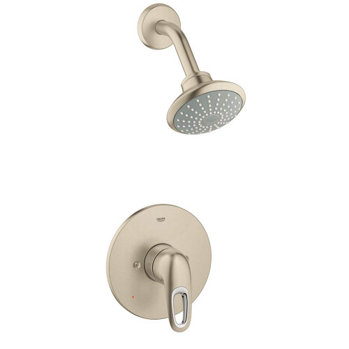 Grohe 35062003 Eurostyle Single-Handle Tub and Shower Faucet Trim Kit Chrome
