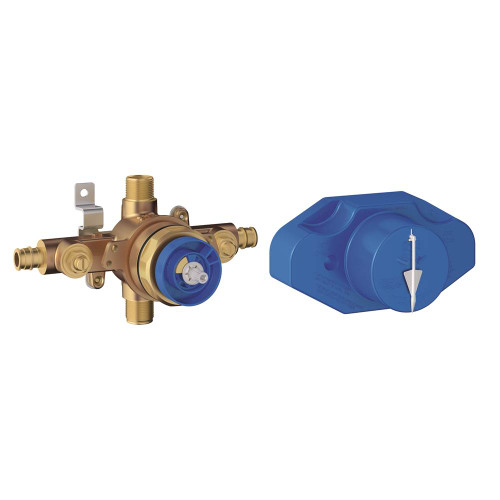 Grohe 35065001 Grohsafe Universal Pressure Balance Rough-In Valve