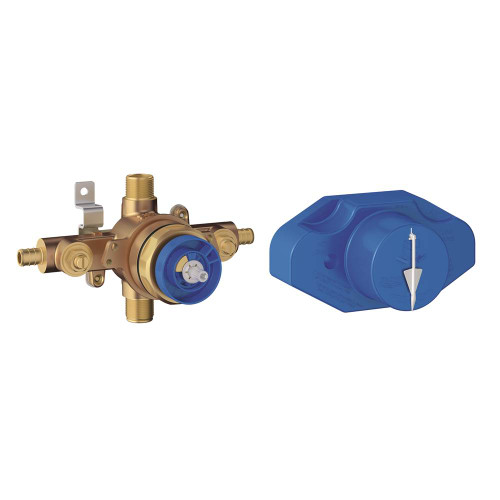 Grohe 35066001 Grohsafe Universal Pressure Balance Rough-In Valve