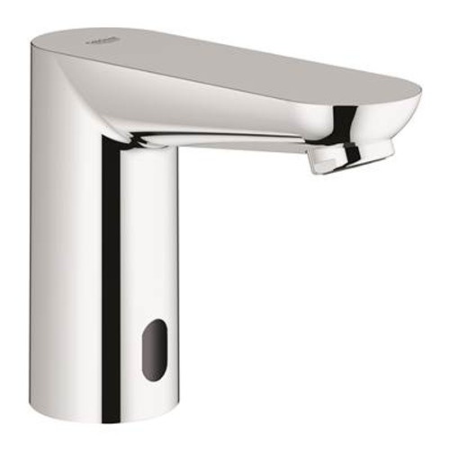 Grohe 36328000 Eurosmart Cosmopolitan E Centerset Touchless Electronic Bathroom Faucet With Temperature Control Lever Chrome