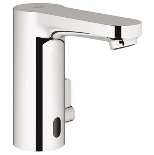 Grohe 36329000 Eurosmart E Centerset Touchless Bathroom Faucet With Concealed Temperature Control Chrome